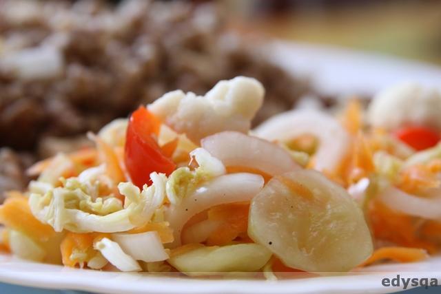 Krótka kiszonka z warzyw mieszanych