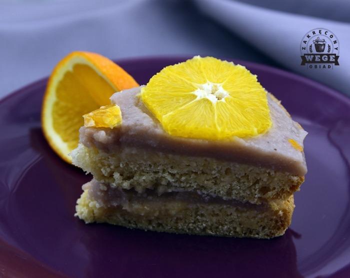 Tort bananowo – pomarańczowy