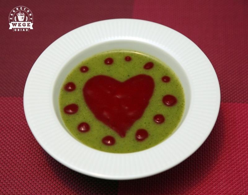 Walentynki – zupa krem z serduszkiem