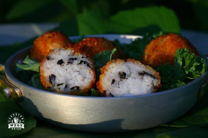 Dekonstrukcja sushi – smażone kulki ryżowe