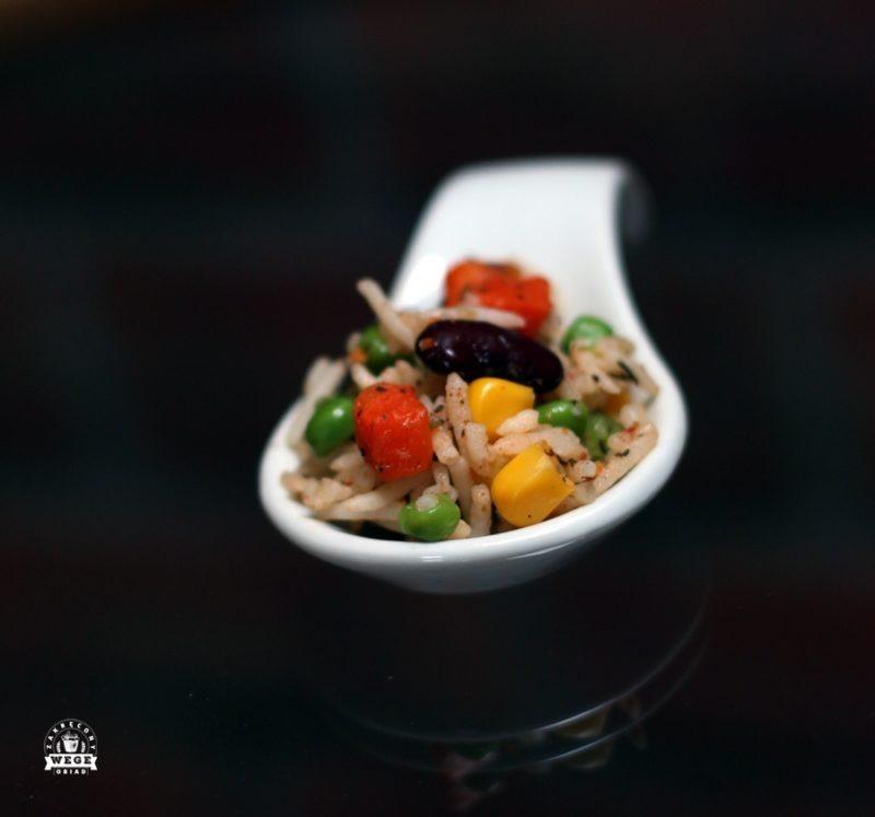 Szybkie danie z ryżu