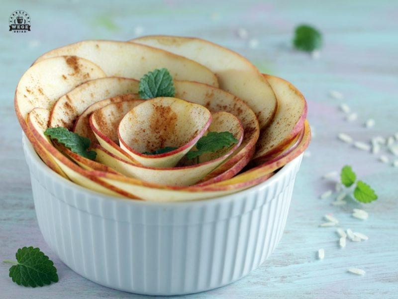 ryż z jabłkiem