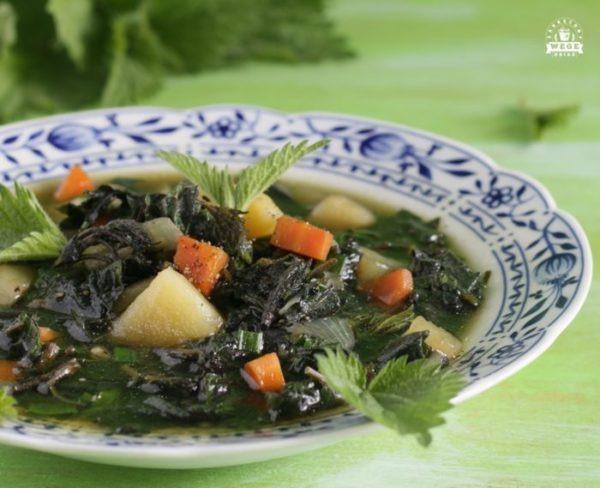 Zupa pokrzywowa wiosenna