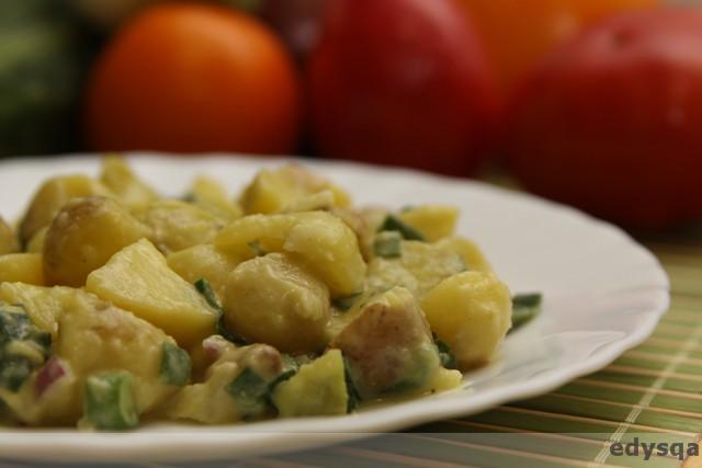 Kartofel salad czyli sałatka ziemniaczana