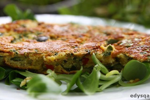 Farinata – omlet bezglutenowy z ciecierzycy