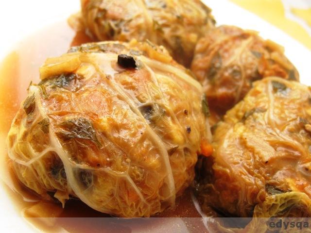 Kule – gołąbki z kapusty włoskiej
