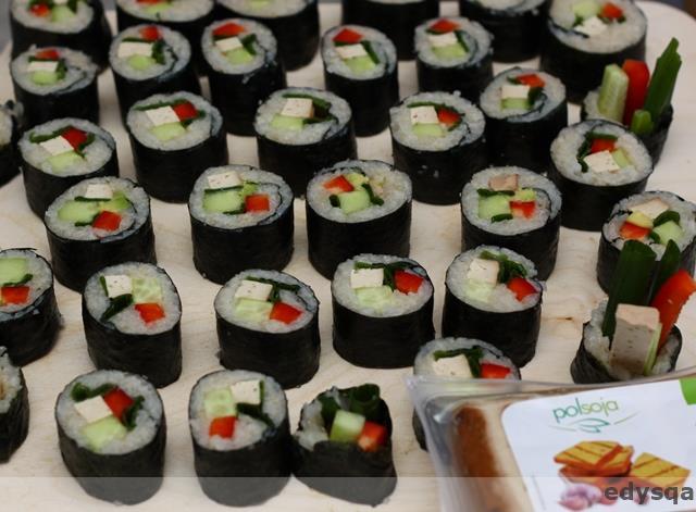 Sushi z bio tofu