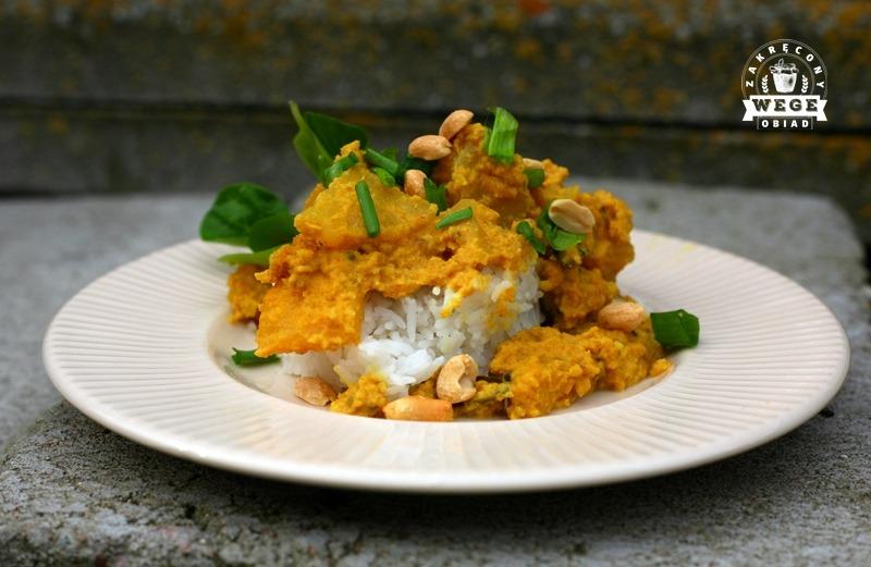 Ananasowo – kokosowe curry