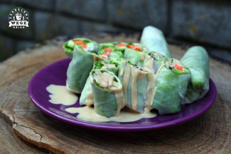 Najlepszy sos z masła orzechowego do spring rolls'ów lub innych dań