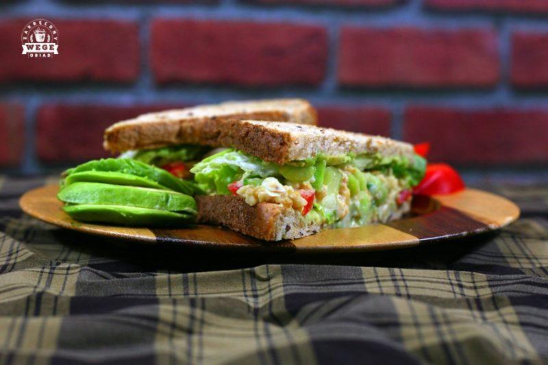 """Najlepsza kanapka z sałatką """"tuńczykową"""""""