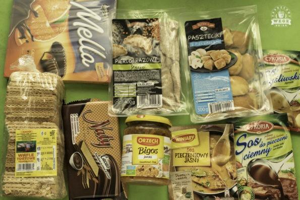 wegańskie zakupy w Auchan