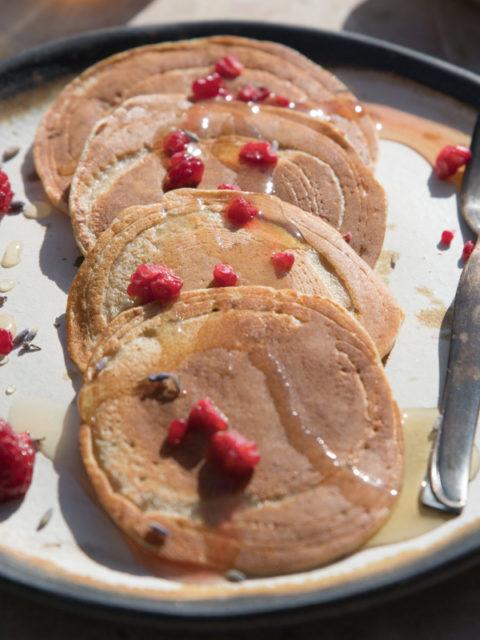 Bezglutenowe pancakes z quinoa
