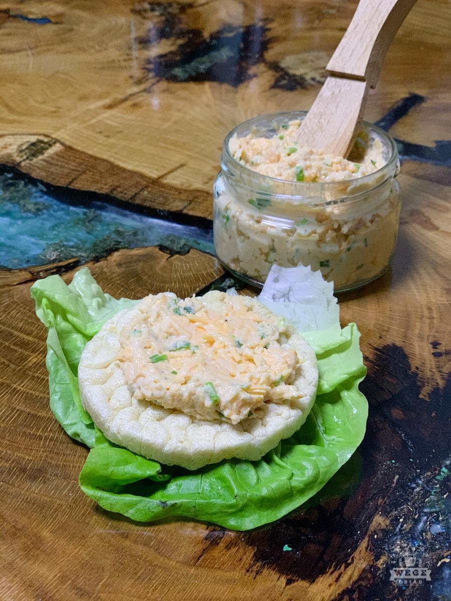 pasta serowa wegańska